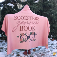 Booksters Gonna Book Hooded Blanket