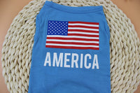 American Flag Shirt for small dogs
