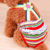 2016 Summer Pet Dog Clothing dog clothes chihuahua Physiological Pants Breathable Pet Underwear Dog Clothing Vest Summer Wear