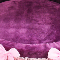 Cute Princess Dog Cat Bed (Soft Warm Size Small)