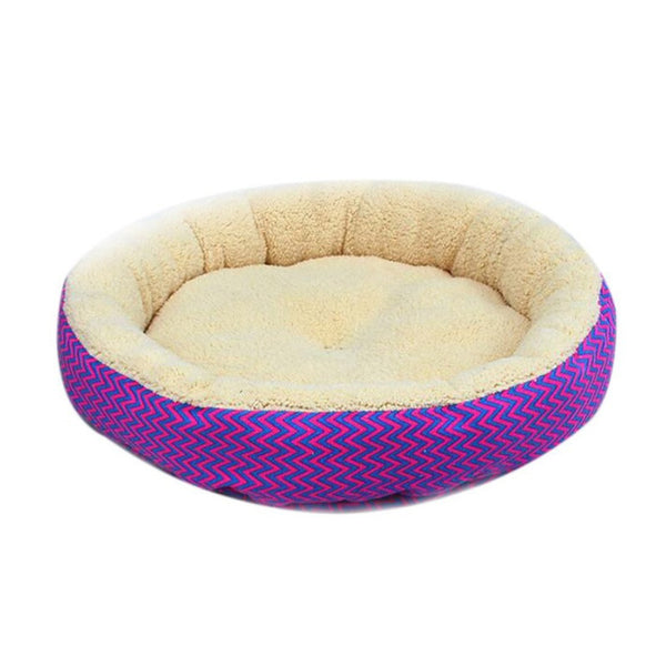 Dog Cat Print Bed Breathable Nest