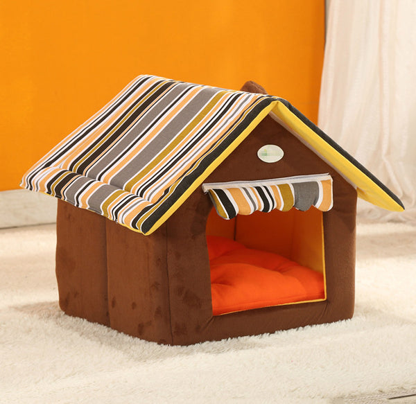 Dog Cat House And Bed (Small Medium Dogs)