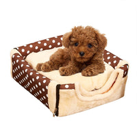 Dog House Nest With Mat Foldable Pet Dog Bed Cat Bed House For Small Medium Dogs Travel