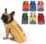 Hot Sale Dog Clothes Winter Quilted Dog Coat Water Repellent Winter Dog Pet Jacket Vest Retro Cozy Warm Pet Clothes