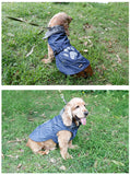Waterproof & Reflective Dog Clothes Winter Warm Fur Collar Vest Jacket Coat Sport Clothing for Small Medium Large Dogs