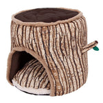 Pet Dog Puppy Cat Tree Style Soft Cotton Bed House Nest