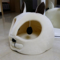 Cat, Mouse Shape Tunnel Bed Windproof