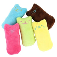 Cats Plush Interactive Fancy Teeth Grinding Catnip Toys Cat Mint