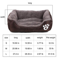 Dog Bed Lounger Warm and Breathable