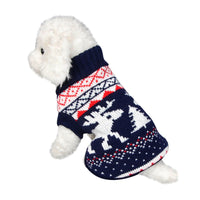 Dog Cat Winter Warm Turtleneck Coat
