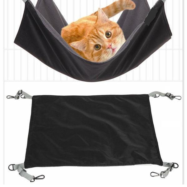 Pet Hammock Bed (Black)