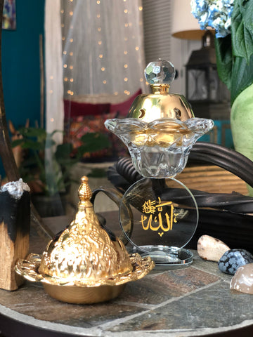 """Pure At Heart"" (ALLAH) Incense Burner"