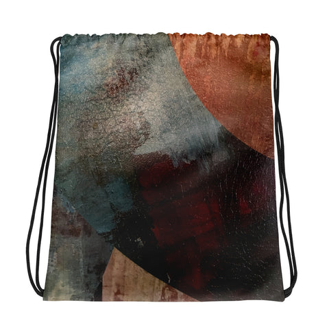 """Earth"" Drawstring bag"