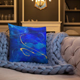 """Intertwined"" Premium Pillow"