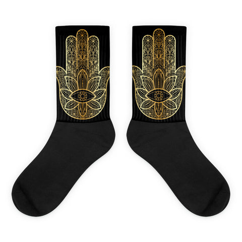 Hand of Fatimah Socks