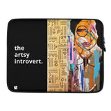 "Oddball: ""The Artsy Introvert"" Laptop Sleeve"