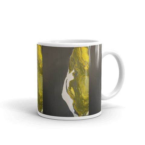 """A Poem that Bends"" Mug"