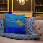 """BluGold"" Premium Pillow"