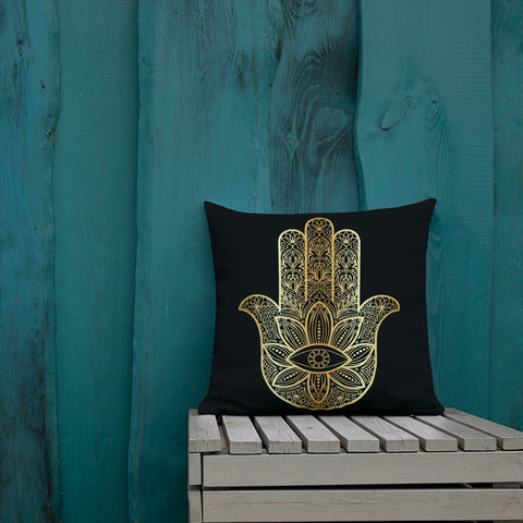 Hand of Fatimah Premium Pillow