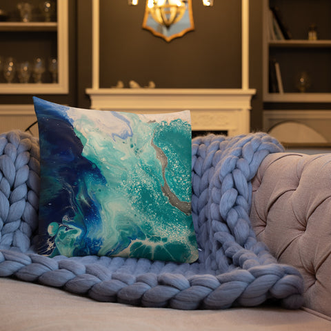 """Just like the Water"" Premium Pillow"