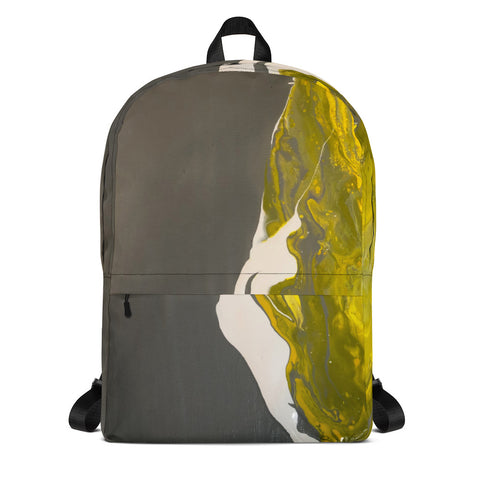 """A Poem that Bends"" Backpack"