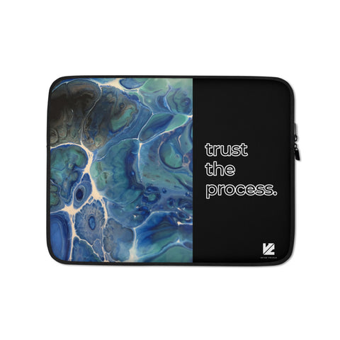 """Trust the Process"" Laptop Sleeve"