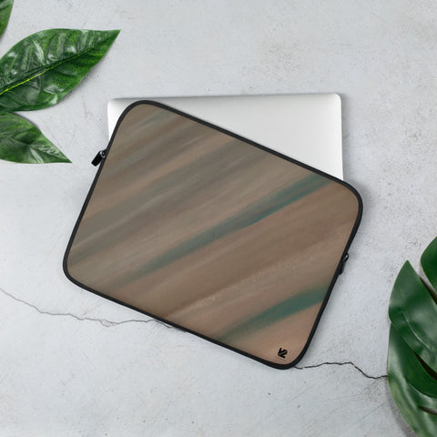"""Warm Sand"" Laptop Sleeve"