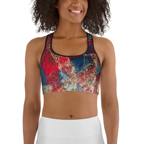 """Serendipity"" Sports bra"