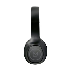 Morpheus 360® TREMORS Wireless On-the-Ear Headphones Hi-Fi Stereo Wireless Headset with Microphone Adjustable Bluetooth 5.0 Comfortable HP4500B Black