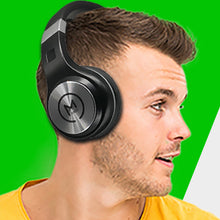 Load image into Gallery viewer, Morpheus 360 SERENITY Wireless Headphones over Ear Hi-Fi Stereo Wireless Headset with Microphone Soft Comfortable Ear Cushions Wireless and Wired Mode Foldable Bluetooth 5.0 HP5500B