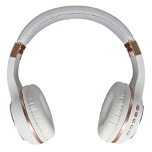 Load image into Gallery viewer, Morpheus 360 SERENITY Wireless Over-the-Ear Headphones Bluetooth 5.0 Hi-Fi Stereo Wireless Headset with Microphone Foldable HP5500R White Rose Gold
