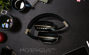 Morpheus 360 Bluetooth Headphones over Ear, HiFi Stereo Wireless Headset HP5500R