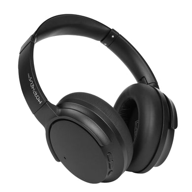 Morpheus360 ECLIPSE 360 ANC Wireless Noise Cancelling Over-the-Ear Headphones Immersive Sound CVC 8.0 Noise Cancelling Bluetooth 5.0 Travel Case HP9250B Black