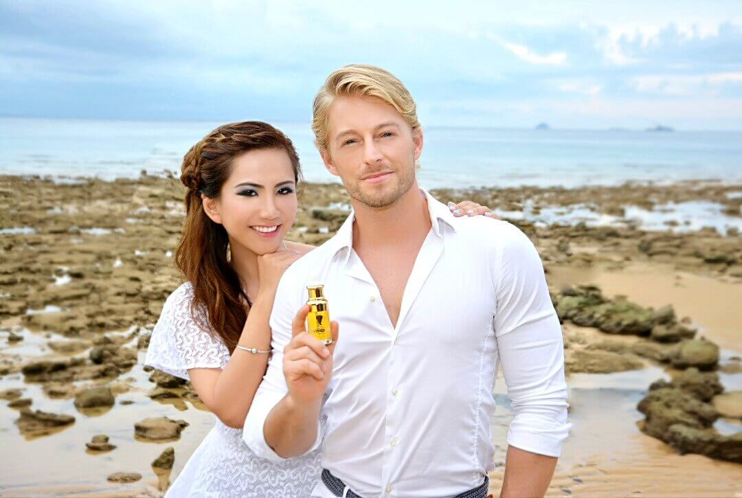Alvi Tan and Fabio Grangeon, brand ambassadors to Alvi Beauty Care, buy argan oil malaysia, argan oil online, best argan oil for face, best argan oil for skin, best argan oil for hair