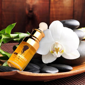 Arganne 100% Pure Argan Oil lifestyle spa setting.
