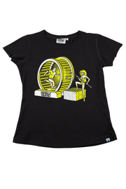 Girls T-Shirt Chasin Print
