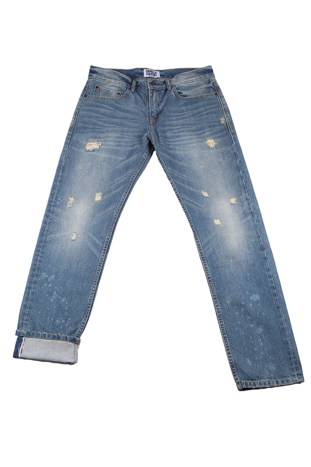 Classic Jeans Straight Fit Light Wash
