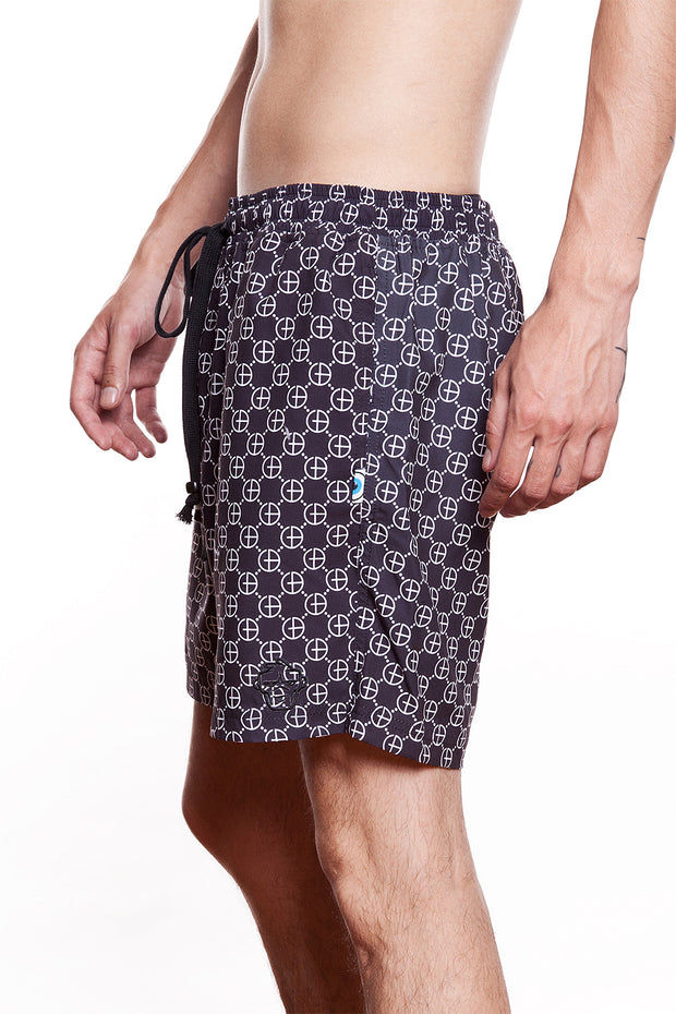 GTB Symbol Monogram Swim Shorts