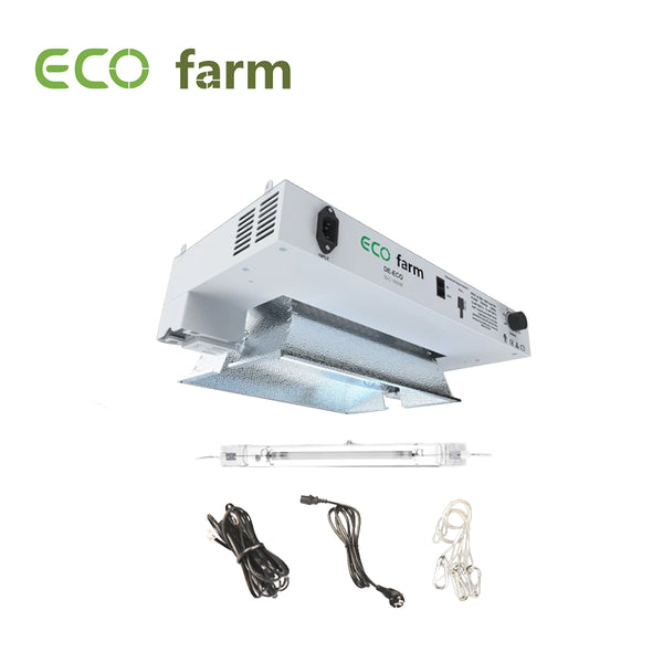 ECO Farm 1000W Double Ended HPS/MH Controller Compatible Grow Light Kit
