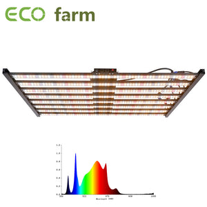 ECO Farm 480W/640W Dimmable LED Grow Light With Samsung Chips+UV+ IR