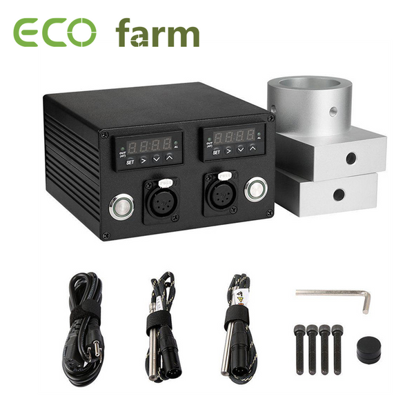 ECO Farm 3x5 Inch Heat Rosin Press Plates Kit With Controller Box Dual Heating Rods