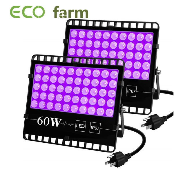 ECO Farm 2 Pack 60W UV Supplemental LED Grow Light