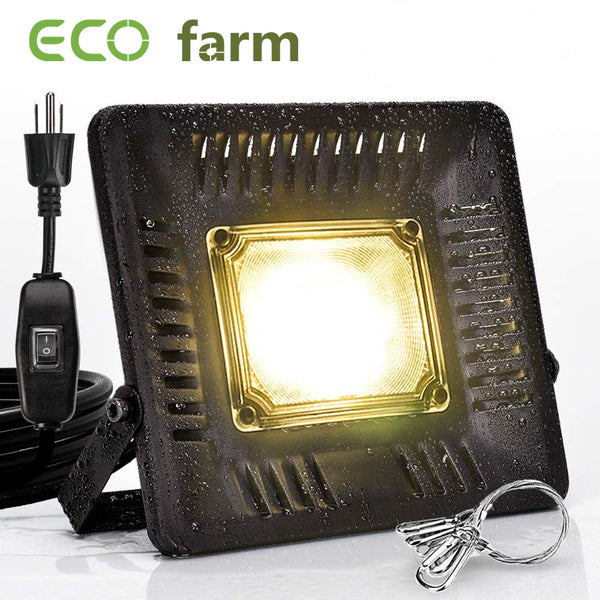 ECO Farm 50W Waterproof COB Supplemental LED Grow Light