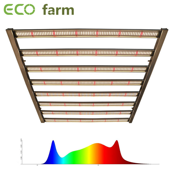 ECO Farm 320W/480W/650W/1000W LED Grow Light With Samsung 561C/ 301B/301H Chips Full Spectrum Commercial Light Easy To Set Up