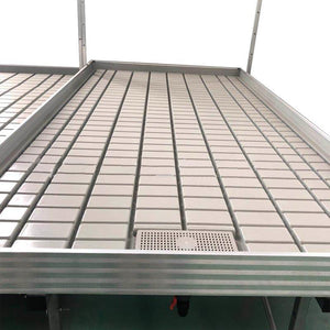 ECO Farm Growing Rack Propagating Seedling Growing Systems Movable Drain Table Flood Trays For Hydroponics