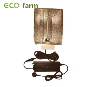 ECO Farm Powerful 600 Watt Dimmable Digital Ballast +Reflector +Bulb Kit For Hydroponics