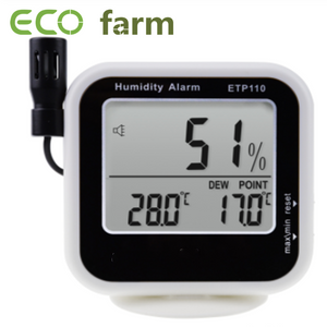 ECO Farm Digital Hygrometer and Thermometer Thermo-Hygrometer