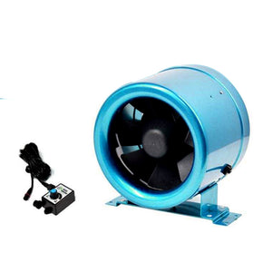 "ECO Farm 4""/6""/8""/10"" Mixed Flow Inner Fan Exhaust With Controller"