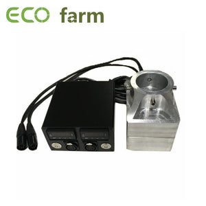 ECO Farm Rosin Heat Press Kits 3x5 Inch Convex Or Concave Shape Plates With Dual Heater Rod