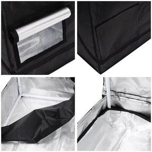 Eco Farm 5*4FT(60*48*80 Inch/150*120*200CM) 600D Indoor Reflective Mylar Grow Tents for Hydroponics Indoor Planting